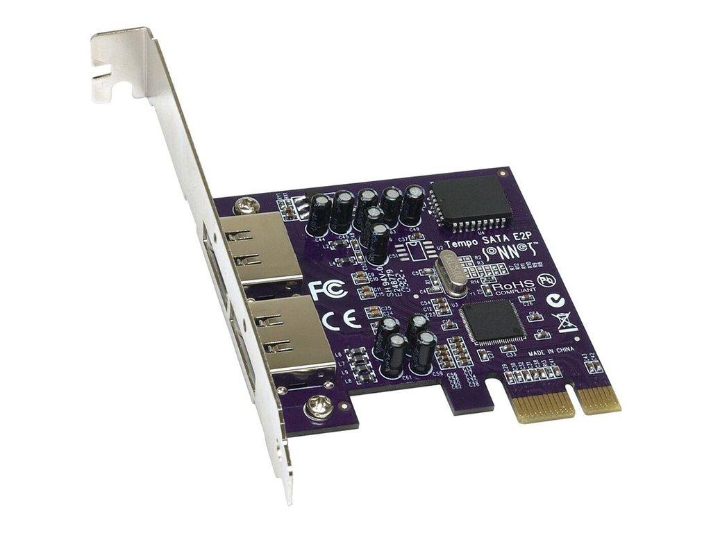 Sonnet Tempo SATA E2P PCI Express bis 10x ext. TSATAII-E2P