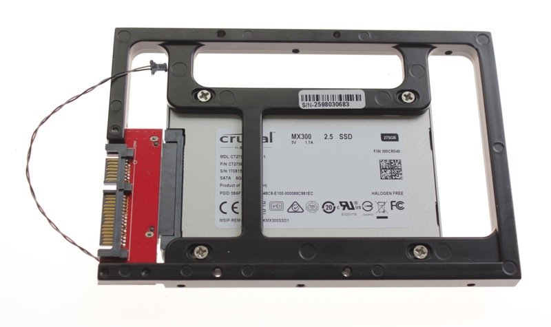"DIY 2 TB SSD Upgradekit iMac 21.5"" A1311 / iMac 27"" A1312 Late 2009 / Mid 2010"