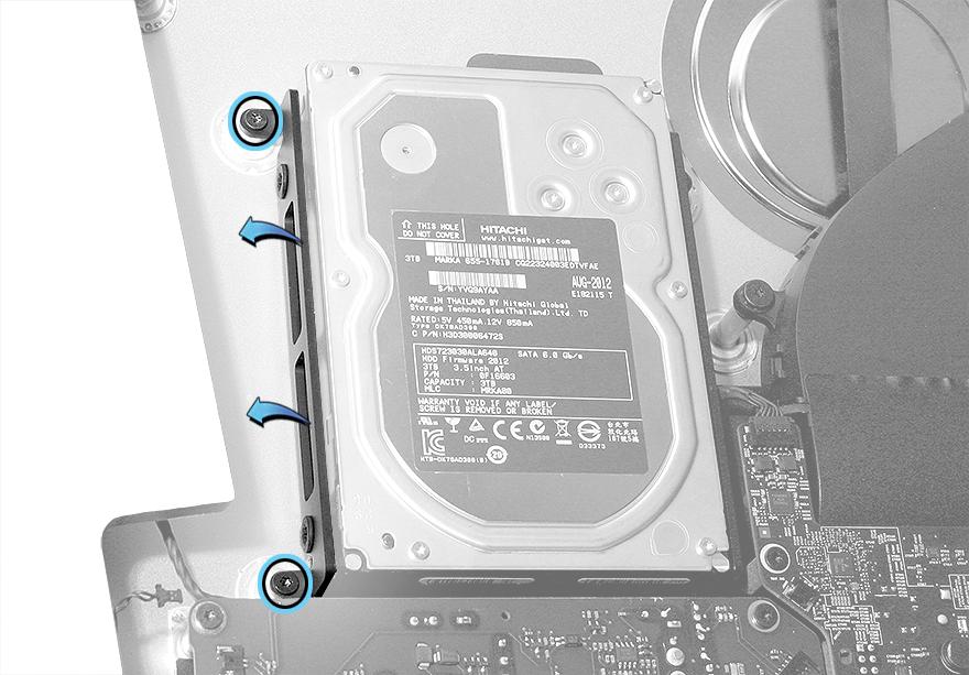 Festplattenrahmen links iMac (Retina 5K, 27-inch) 923-00086
