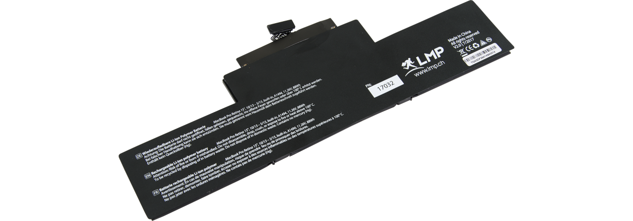 "LMP Batterie MacBook Pro 15"" Late 2013 - Mid 2014"