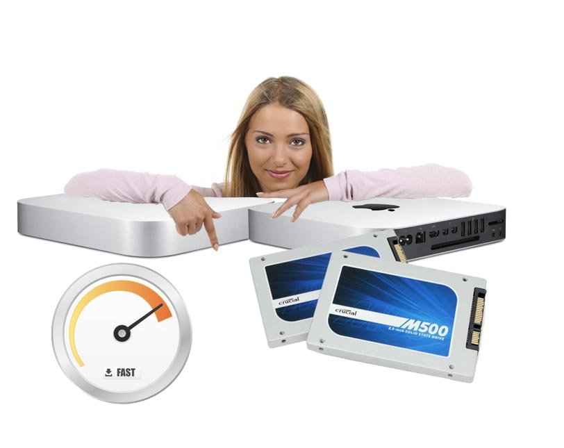 SSD Upgrade 1TB Mac mini Mid 2010