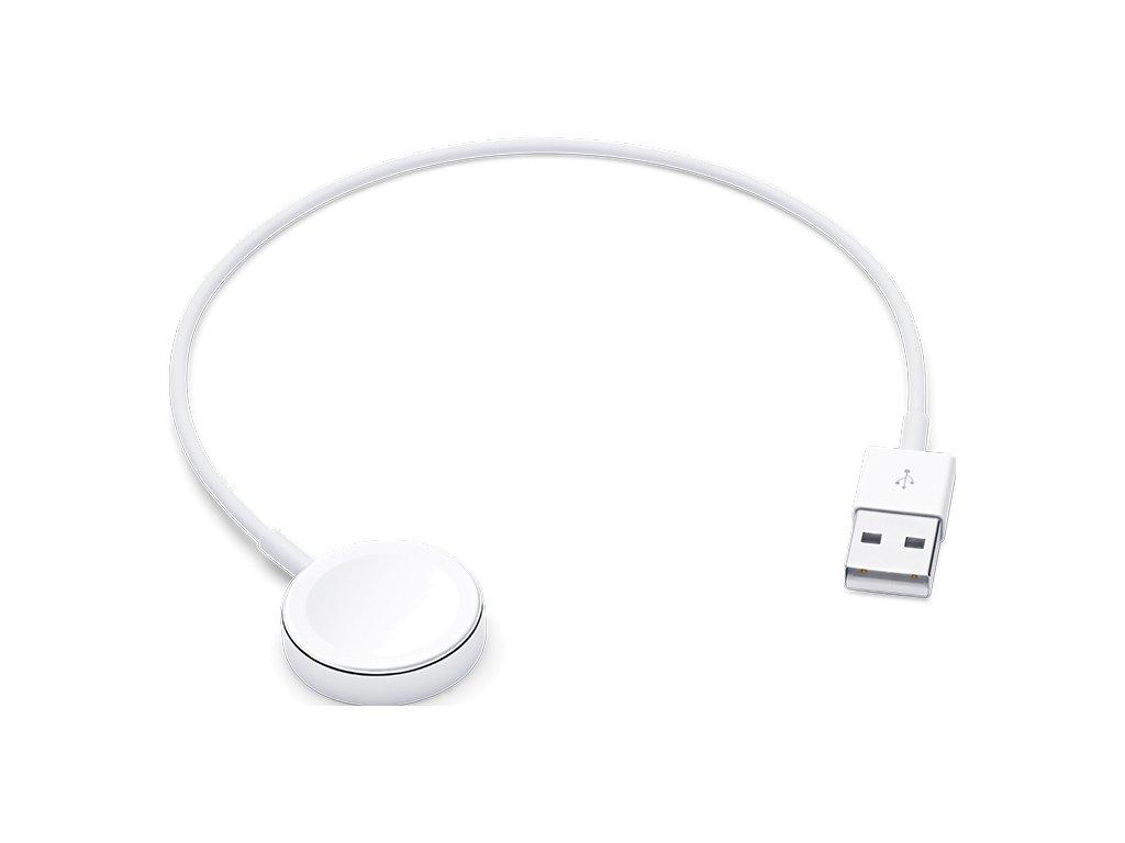 Apple magnetisches Ladegerät auf USB Kabel für Watch (0,3 m) MX2G2ZM/A