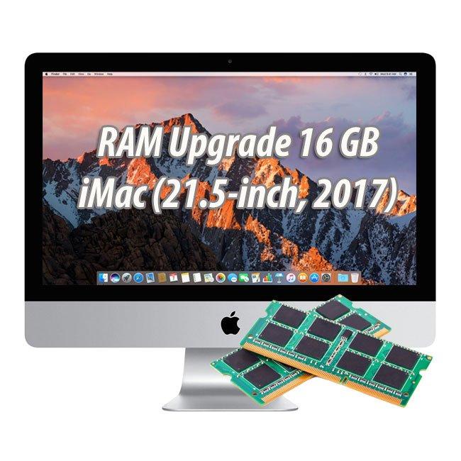 Arbeitspeicherupgrade iMac (21.5-inch, 2017) ohne Retina Display 16 GB 2 x 8 GB