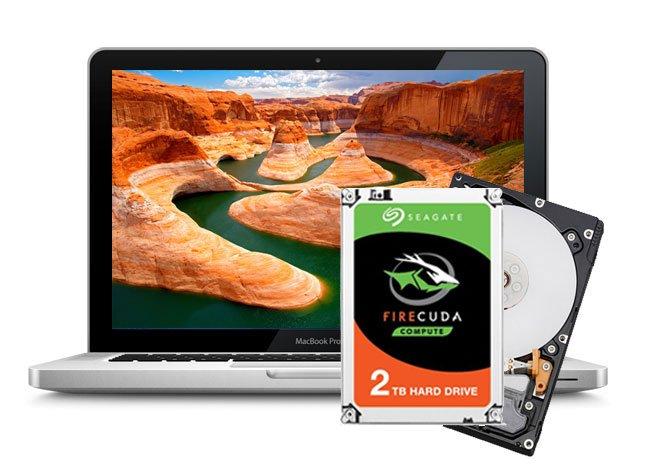 Festplatte aufrüsten Mac