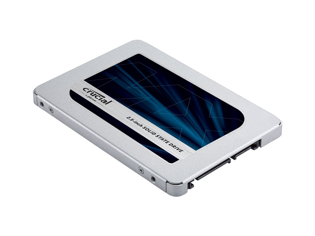 "Crucial SSD MX500 6,4cm(2,5"") 500 GB SATA 6Gb/s"