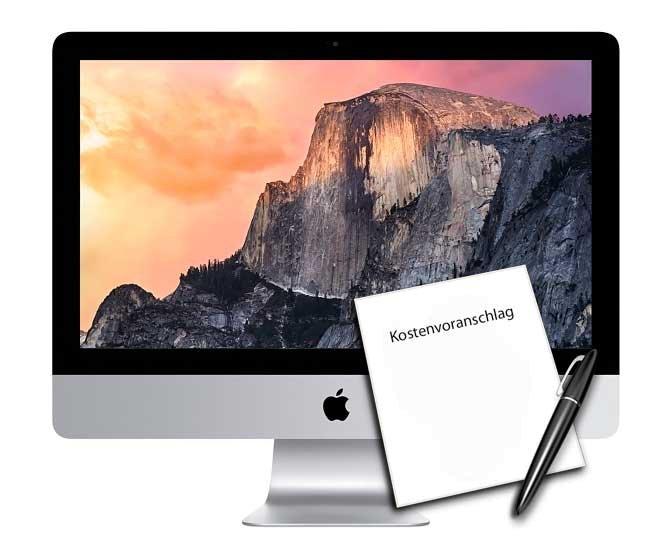 Diagnose Kostenvoranschlag iMac
