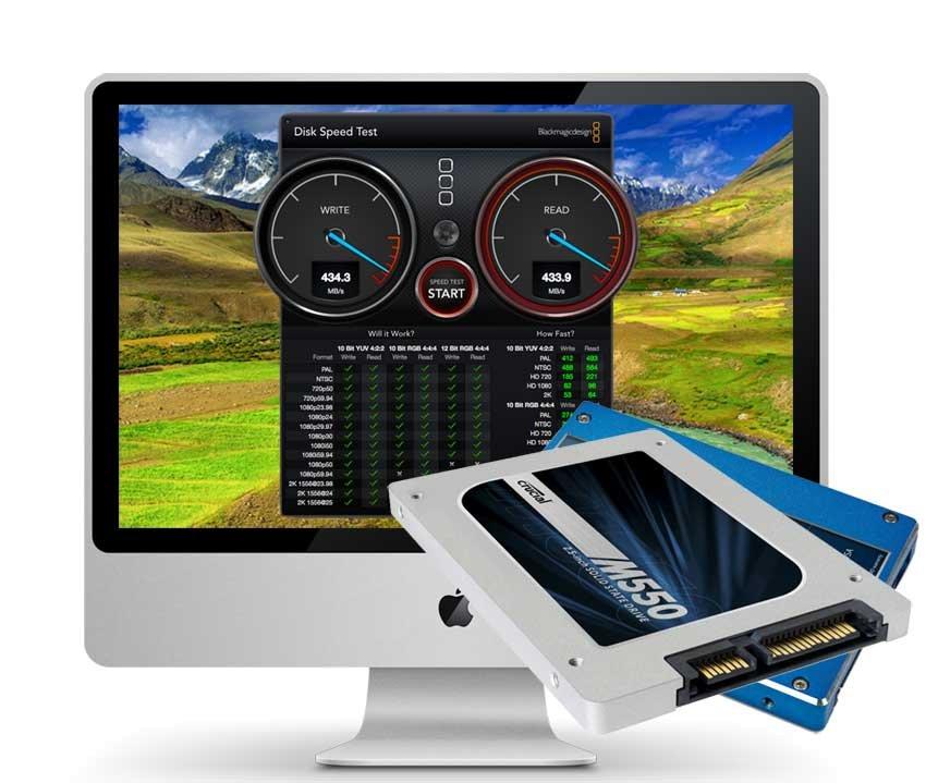 iMac Late 2009 500 GB SSD Upgrade inkl. Einbau