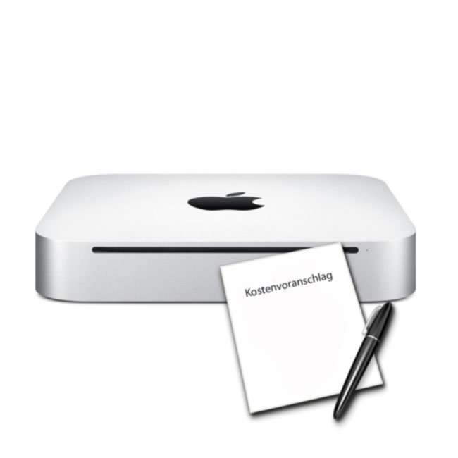 Mac mini Kostenvoransclag, Mac Service Königsbrunn