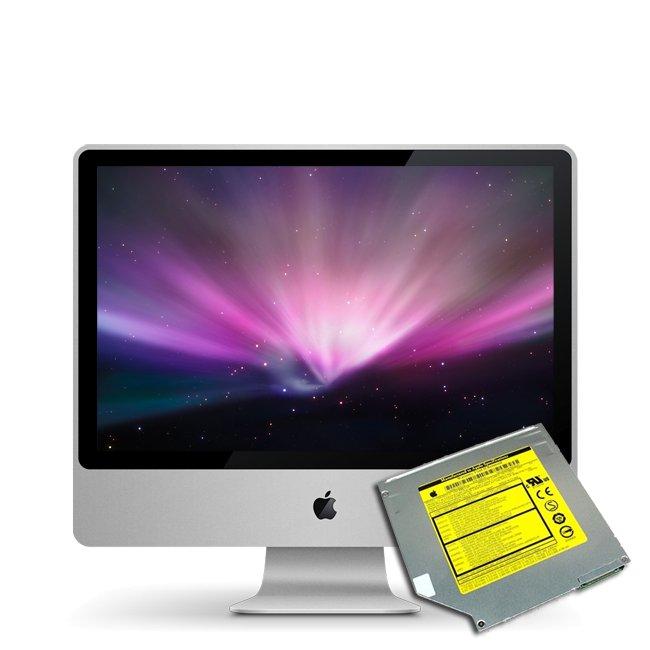 Austausch Superdrive iMac 20 und 24 inch Early 2009