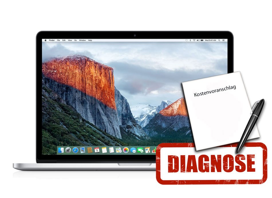 Diagnose Macbook Pro A1398