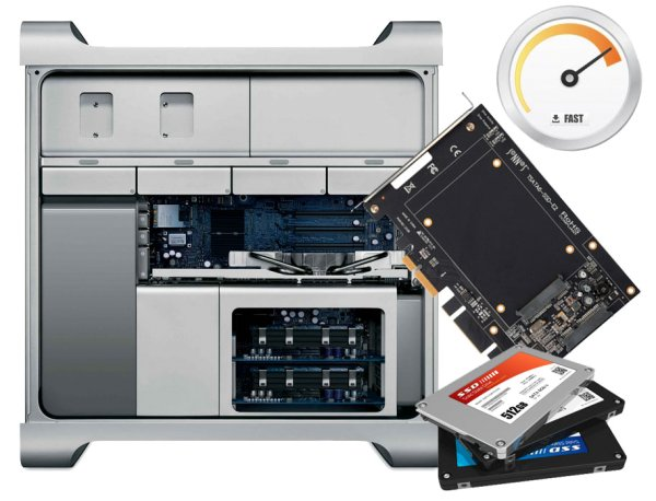 SSD Upgrade ab Mac Pro 3,1 Early 2008 A1289