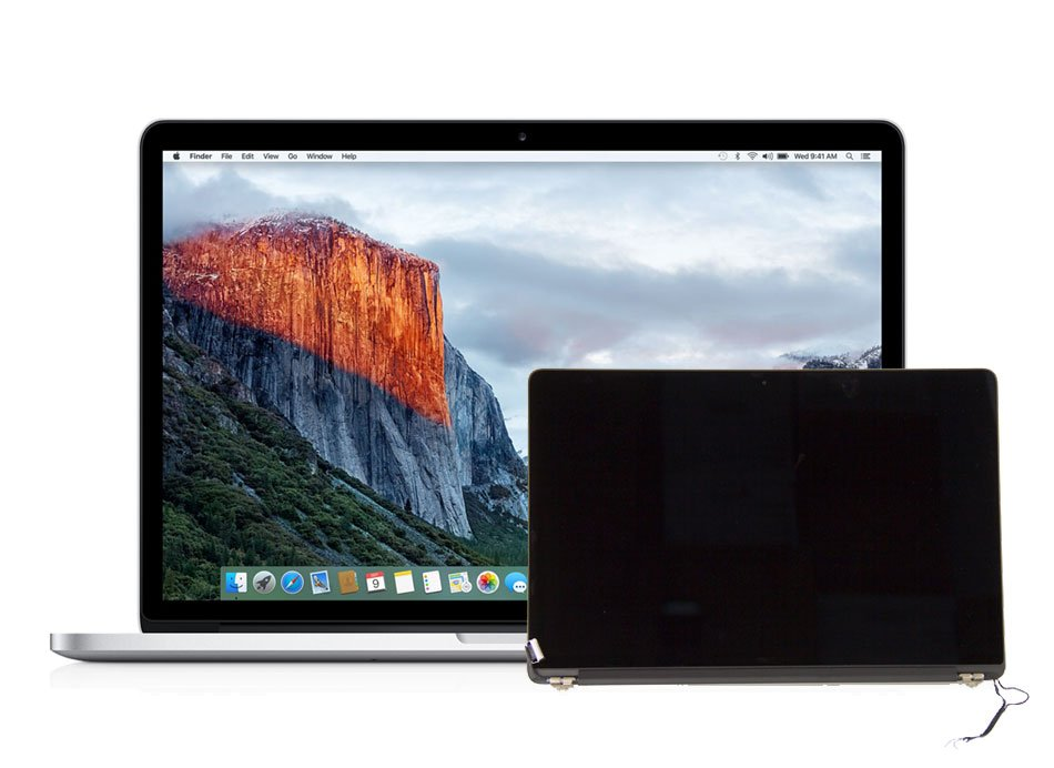 Display reparieren Apple A1398 Retina