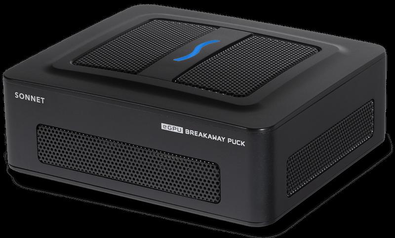 SONNET eGPU Breakaway Puck Radeon RX 5700