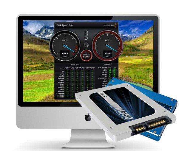 iMac Late 2009 2 TB SSD Upgrade inkl. Einbau