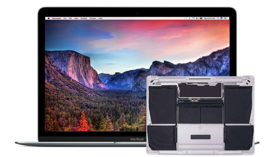 Macbook A1534 Batterie tauschen