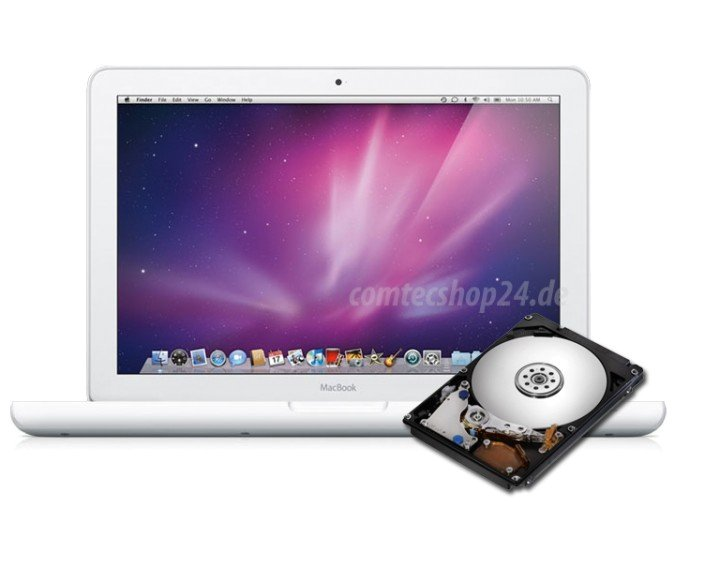 Austausch Festplatte 500 GB Macbook A1342 Late 2009 oder Mid 2010
