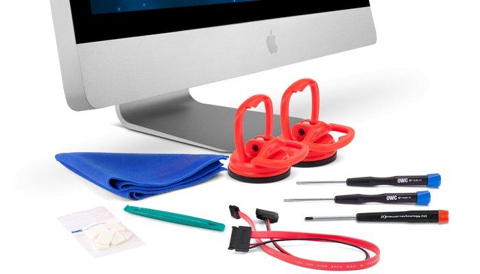 """SSD DIY Einbaukit für Apple 27"""" iMac 2011 Modell"""