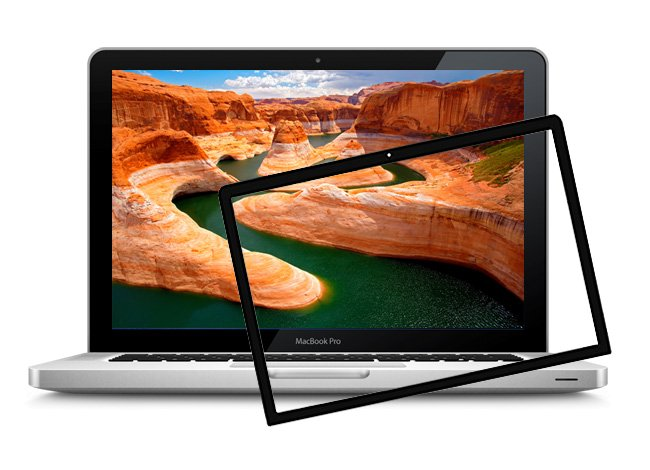 Macbook Pro A1297 Frontglas