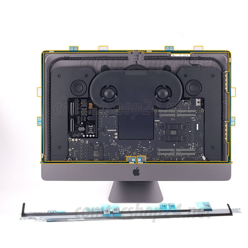 original Apple iMac Pro 27 inch A1862 Klebestreifen für LCD