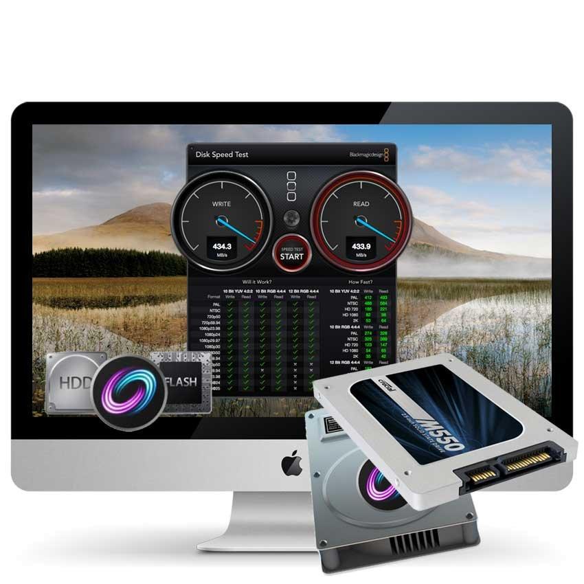 Fusiondrive Upgrade 3TB iMac Mid 2011 inkl. Einbau