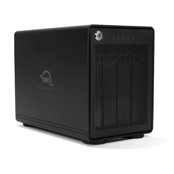 OWC ThunderBay 4, 4-Bay SoftRAID Gehäuse, Thunderbolt 3 OWCTB3SRKIT0GB