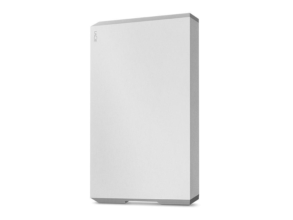 "LaCie 6,4 cm (2,5"") 4 TB Mobile Drive USB-C Moon Silver STHG4000400"