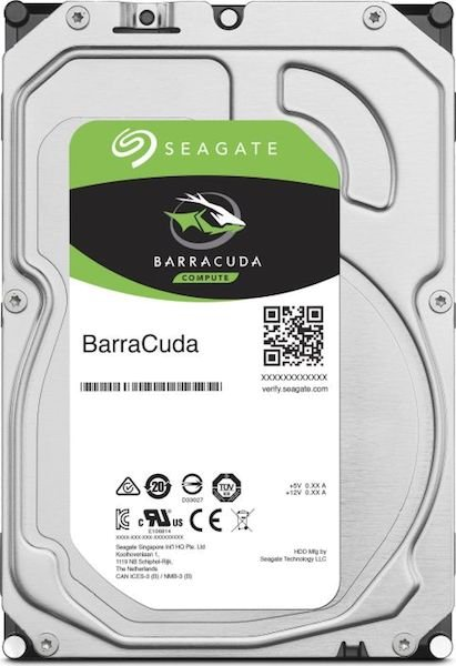 "SEAGATE BarraCuda Desktop 1TB 3.5"" HDD 7200rpm"
