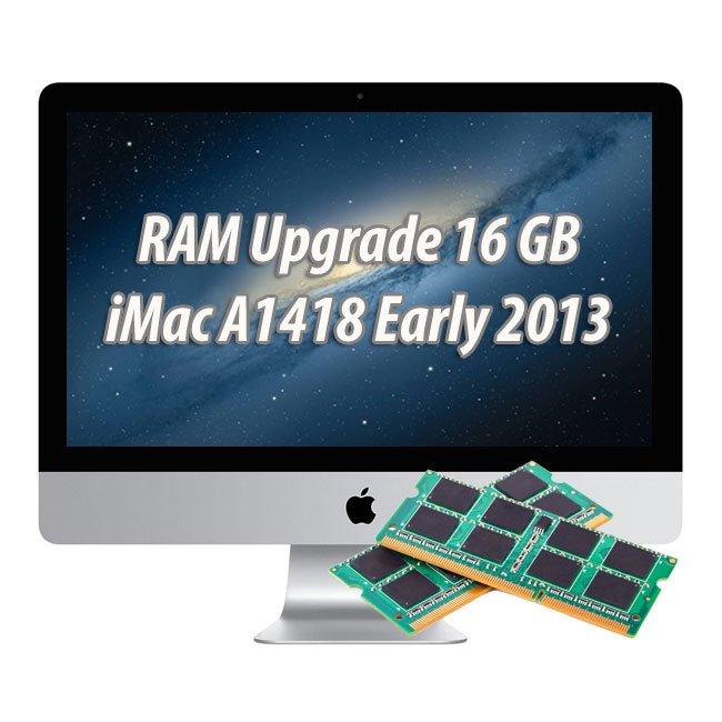 Arbeitspeicherupgrade iMac (21.5-inch, Early 2013) 16 GB 2 x 8 GB