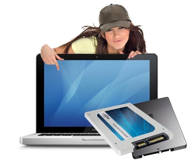 SSD Upgrade 500 GB Macbook A1278 inkl. Einbau