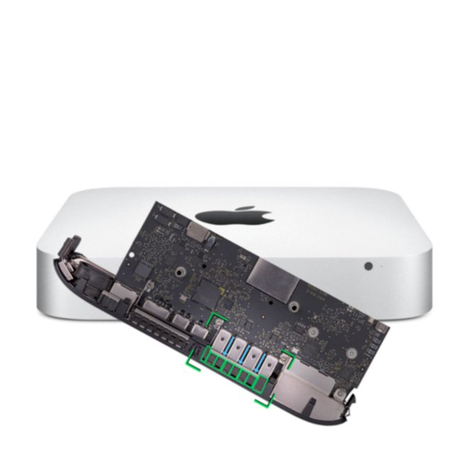 Reparatur Logicboard Apple Mac mini Late 2012 6,1 & 6,2 A1347 EMC 2570