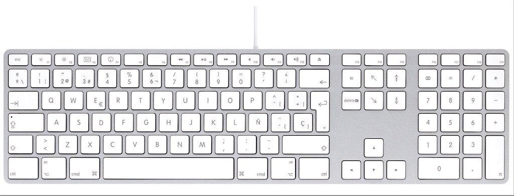 LMP USB Tastatur mit Ziffernblock Spanien 17573