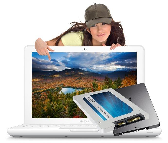 SSD Upgrade 500 GB Macbook A1342 inkl. Einbau