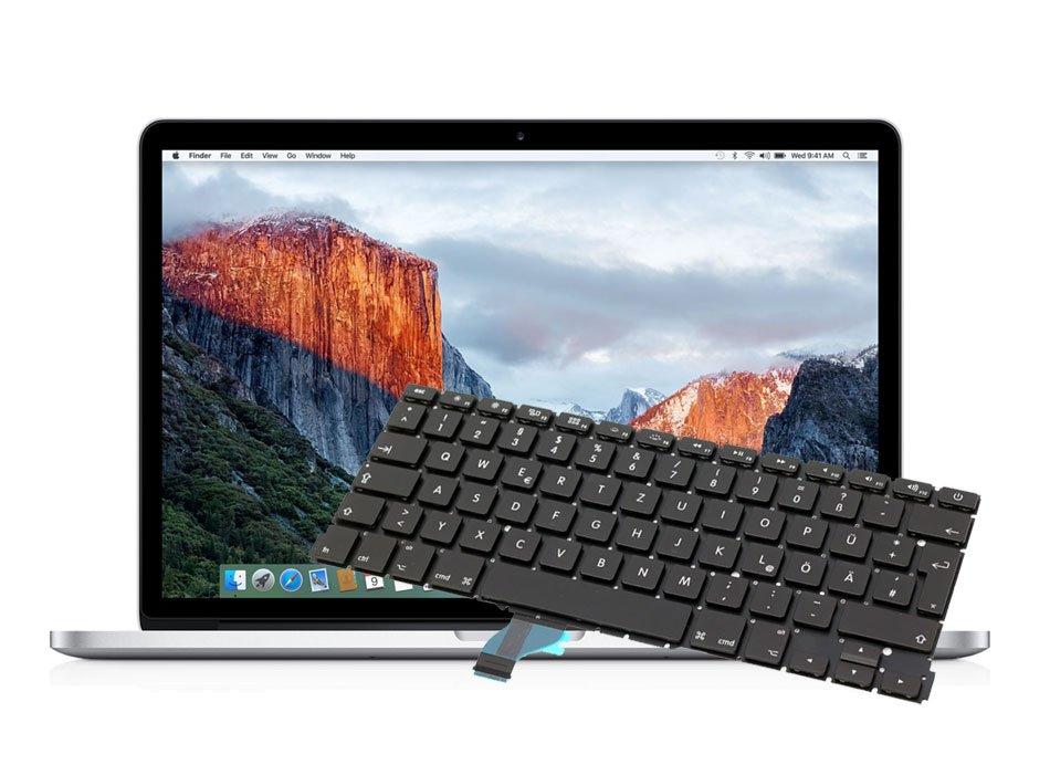 Reparatur Tastatur Macbook Pro Retina 15 inch A1398 Mid 2012 - Mid 2015