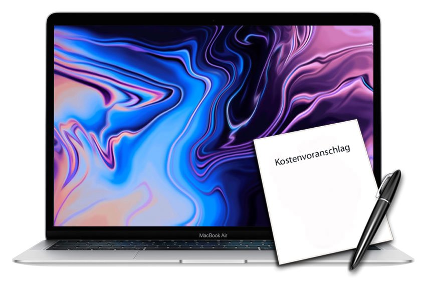 Diagnose Kostenvoranschlag alle MacBook Air Retina ab 2018