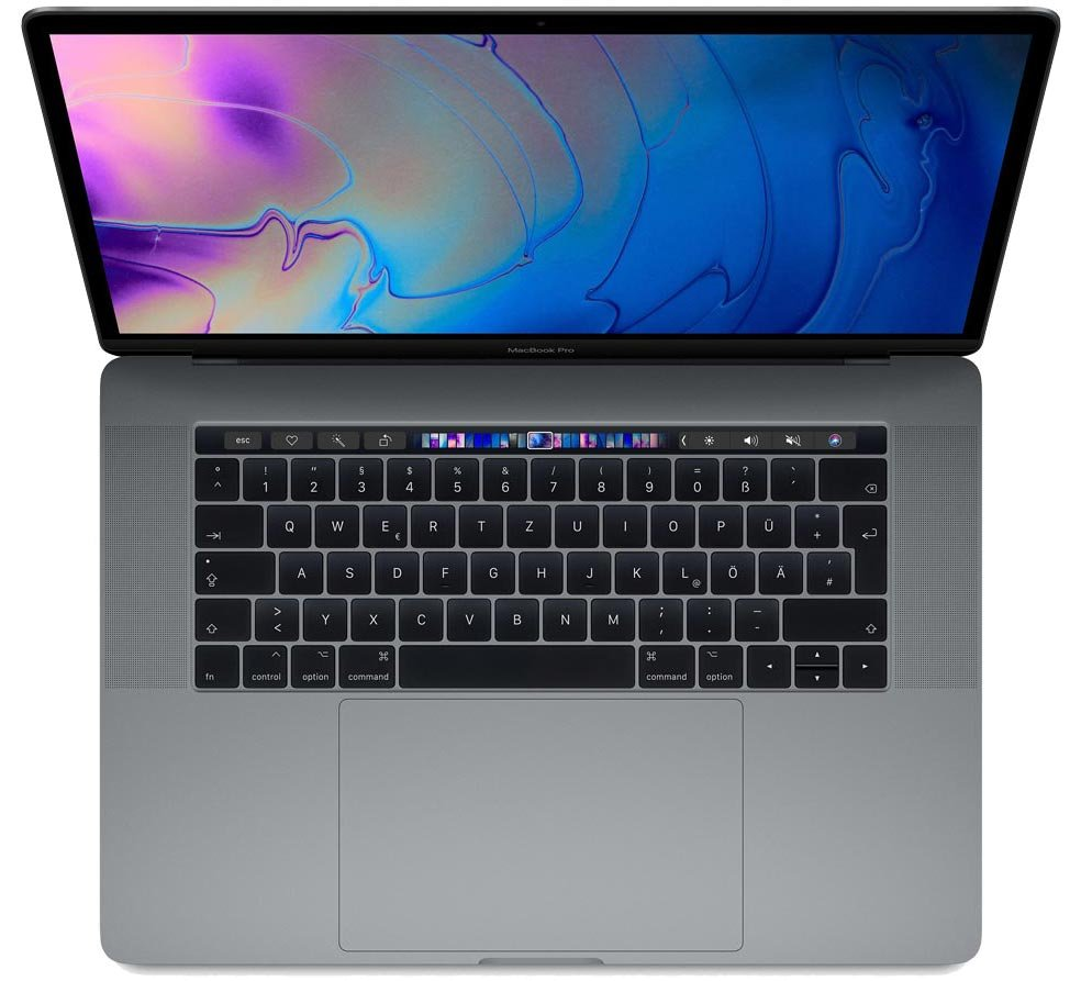 Apple MacBook Pro 38cm(15'') 2.2GHz i7 TouchBar 256GB konfigurierbar