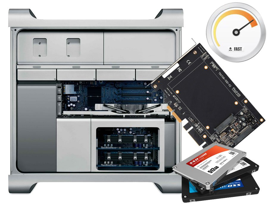 SSD Upgrade ab Mac Pro 3,1 Early 2008 - Mid 2012 A1289