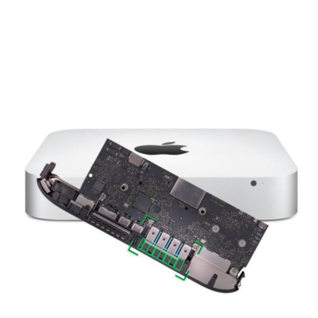 reparatur logicboard apple mac mini late 2014 7 1 a1347. Black Bedroom Furniture Sets. Home Design Ideas