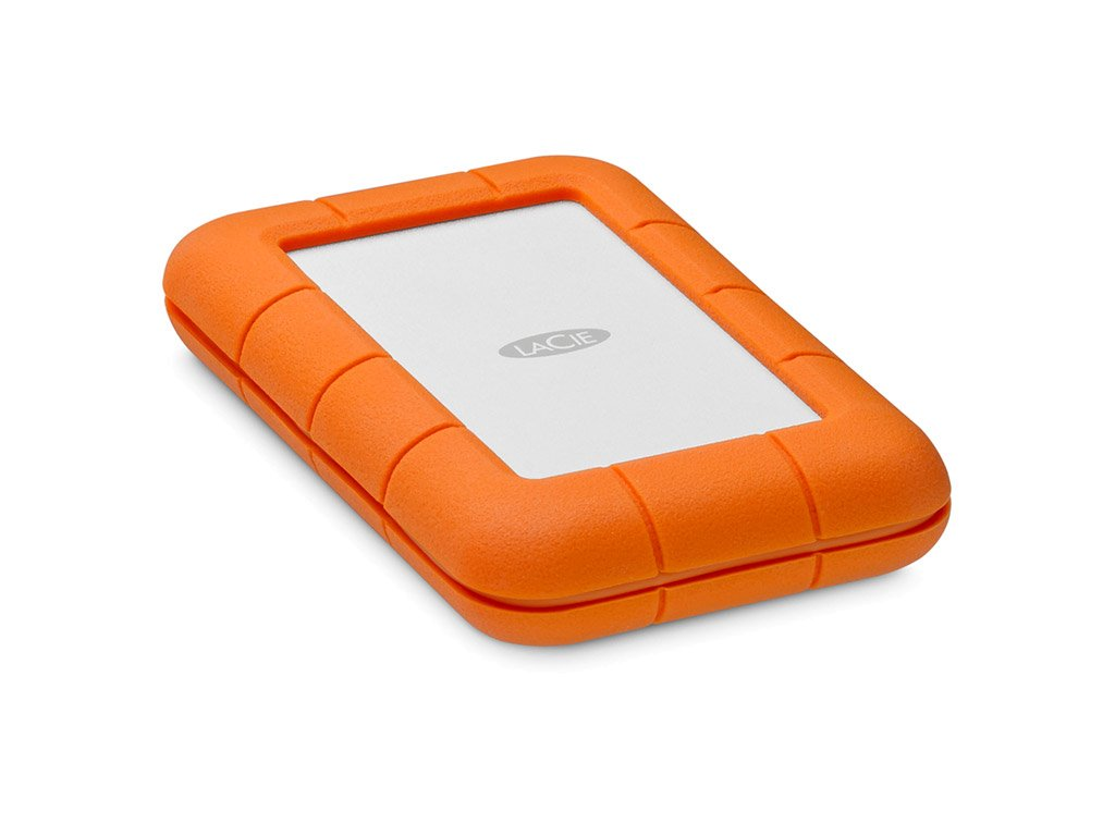 LaCie Rugged Thunderbolt USB-C 4TB (integ. Cable) STFS4000800