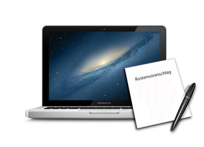 Kostenvoranschlag Macbook Pro