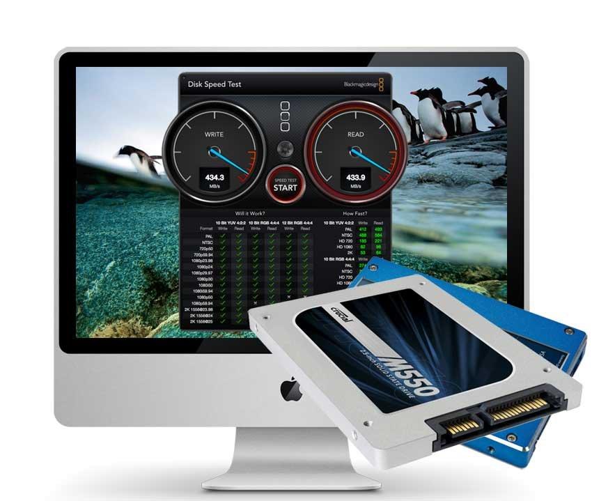 iMac Mid 2010 250 GB SSD Upgrade inkl. Einbau