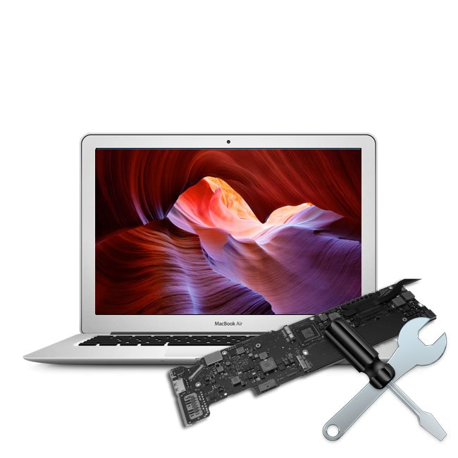 Reparatur Logicboard Chip Level MacBook Air 2017