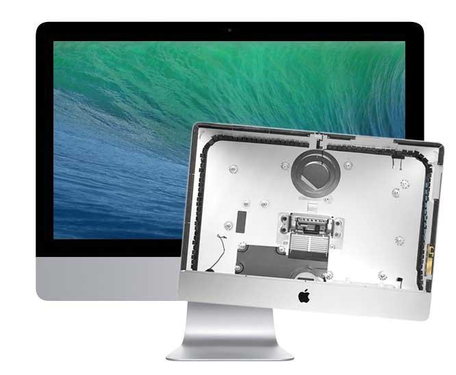 Reparatur Austausch Gehäuse für iMac 21.5 inch A1418 Late 2012 bis Late 2013