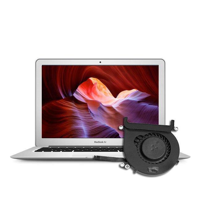 Austausch Reparatur Lüfter Macbook Air