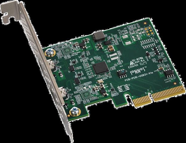 SONNET Allegro USB-C 3.2 PCIe Karte, 2 Port
