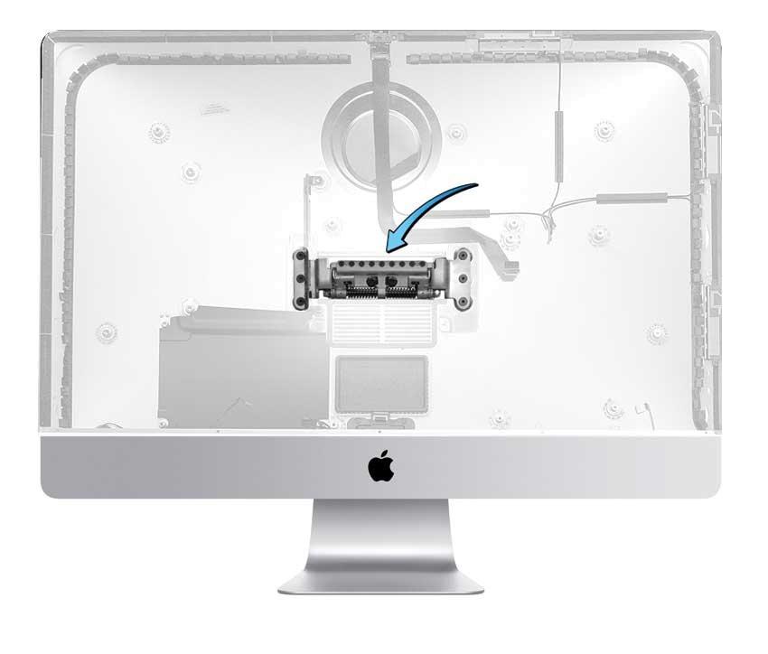Reparatur Displayscharnier iMac 27 inch A1419 Late 2012 / Late 2013