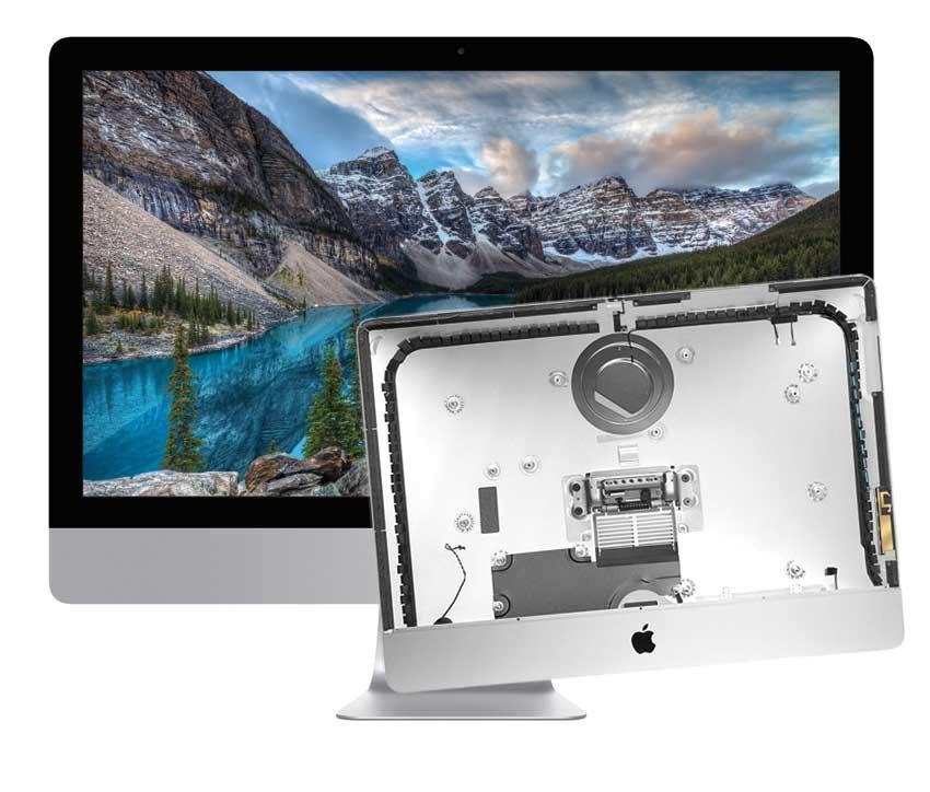 Reparatur Gehäuse iMac 27 inch A1419 Late 2012 und Late 2013