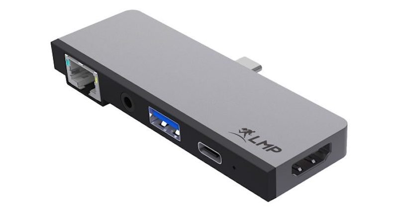 LMP USB-C Tablet Dock 4K, 5-Port, iPad Pro