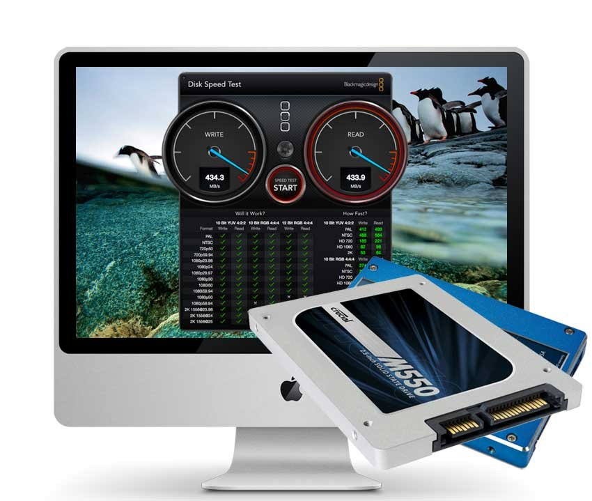 iMac Mid 2010 2 TB SSD Upgrade inkl. Einbau