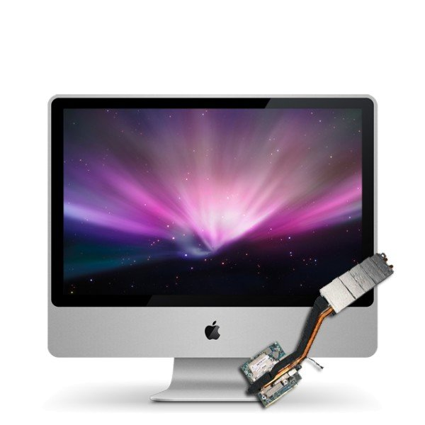 Reparatur Grafikkarte iMac 24inch Early 2008