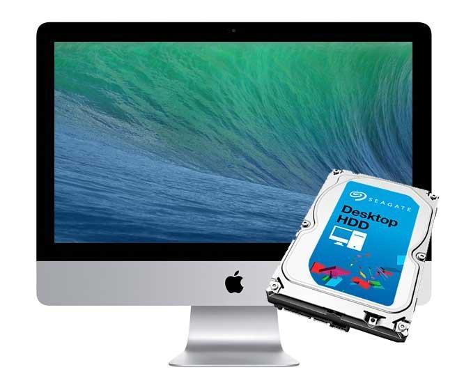 1TB Reparatur Festplatte iMac 21.5 inch A1418 Late 2012 - Late 2015 Retina